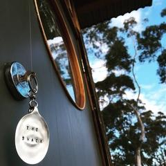 The shack - spoon key ring