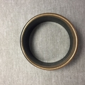 Art Deco Black - Handcast Eco Resin Bracelet/Bangle