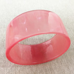 Pink Sunset - Handcast Eco Resin Bracelet/Bangle