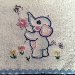Babies Embroidered Towelling Bibs- Misc 1