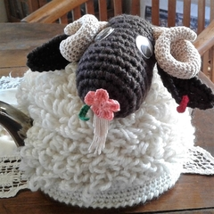 "Funky ""WILLUM"" (Billy) Goat Tea Cosy in Quality Acrylic Yarn"
