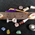 Mini altar kit for travel, tiny spaces and small spells