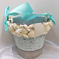 Wedding Basket  -  Beach Shells