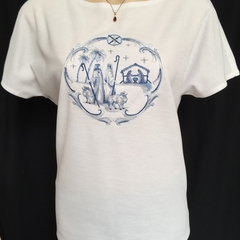 Ladies Boat Neck Dolman Sleeve T-Shirt
