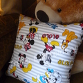 """""""Sailor Duck"""" Reading/Pocket Cushion  (cover only)"""