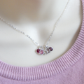 Mother of Five Birthstone Necklace, choose your birthstones