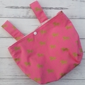 Handlebar Bag |  Scooter Bag | Bike  Bag | Pink Unicorns | Free Shipping