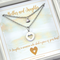 Set of Mother And Daughter Necklaces,Set of Heart Necklaces