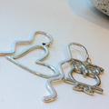 Love Heart Charm Bookmark Great Stocking Filler or Teachers Gift