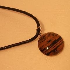 Leesa - small painted pendant