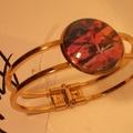 India - painted bracelet