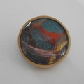Carl - painted brooch