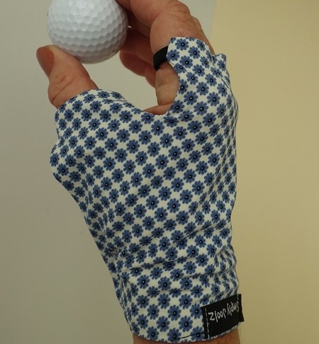 Sunglove: golf, lycra, sun protection, fingerless, palm free, Simply Joolz
