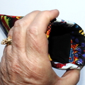 Padded Sunglasses Pouch in Fun Wording Fabric