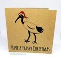 Bin Chicken (Ibis) Christmas Cards - Set of 3 (Free Post to Aus)