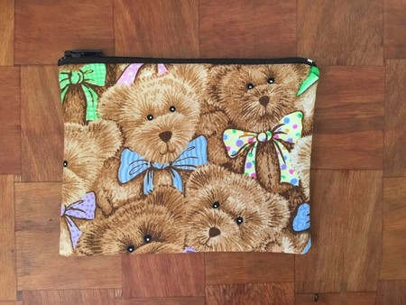 Teddy Bear Print Purse