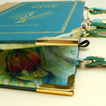 Jane Eyre Novel Bag - Charlotte Bronte - Upcycled book - Bag made from a book