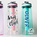 Drink Bottle with double layer Name sticker * Custom Made * Personalised *
