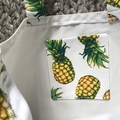Pineapples library/shopping bag