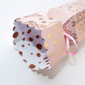 Rose-gold snowflake Bon-Bon / Gift Box_ready to fill