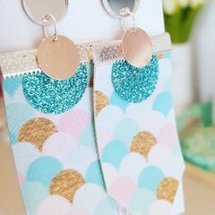 Mermaid Sparkles - Dangle Earrings