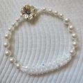 Swarovski Crystal and Pearl Bracelet
