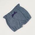 Size 2 - Bubble Shorties - Denim - Cotton - Bloomers - Shorts - Retro