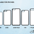 Custom iPhone TPU Case - for iPhone XS, X, 8, 8 Plus, 7, 7 Plus, 6/6S, SE