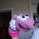 Crochet Hand Puppet - Sheep