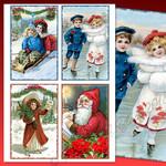 Vintage Victorian Christmas Printable