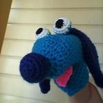 Crochet Hand Puppet - Dog
