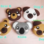 Koala-Bear-Dog- Plush /  Mini Pillow /  Softie / Home Decor /  Soft Toy / Gift