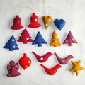 15 Felted Christmas Decorations #21
