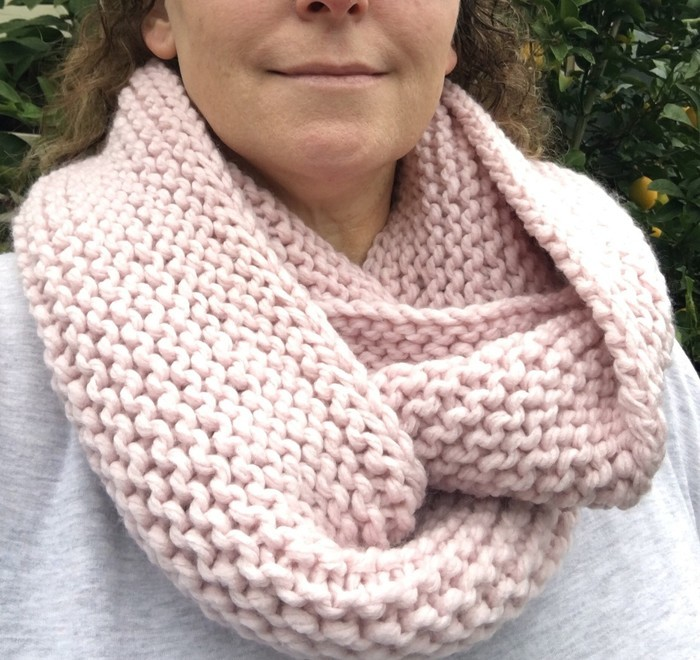 Pattern Knitted Infinity Scarf Scarf Pattern Knit Cowl Pattern