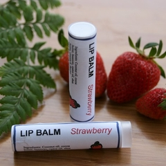 Strawberry Lip Balm, Lip Moisturiser, Natural Lip Balm