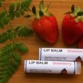 Strawberry Lip Balm, Lip Moisturiser, Natural Lip Balm