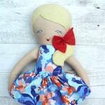 Gemma - Handmade rag doll, 38cm, fabric doll, cloth doll.