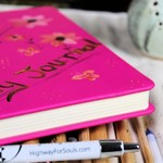 Writing Journal, Pink, Gift For Her, Pink, Journal For Women, Journal For Girls,