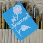 Special Occasion Book, Special Book, White Flowers, Lined Notebook, Guest Book,