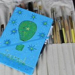 Travel Journal, Kit, One Of A Kind Gifts, Hot Air Balloon, Travel Notes