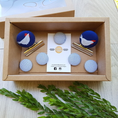 Chickens Magnet Gift Box Set