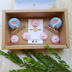 Seaside Magnet Gift Box Set