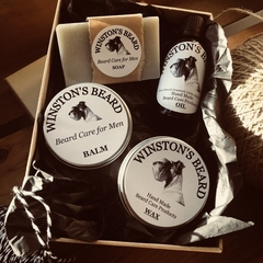 Bumper Box - Beard Soap, Balm, Oil and Wax Trio