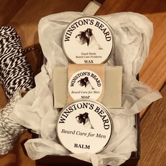 Beard Soap, Balm and Wax Trio