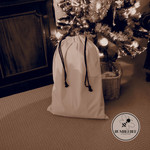 Blank Canvas Sacks - Santa Sack - Natural Christmas