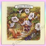 Victoria Plum Birthday Card Five
