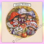Victoria Plum Birthday Card Four