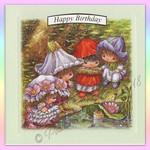 Victoria Plum Birthday  Card One