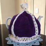 Knitted Teacosy fits a 4-6 cup pot perfect for a gift