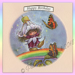 Victoria Plum Birthday Card Three